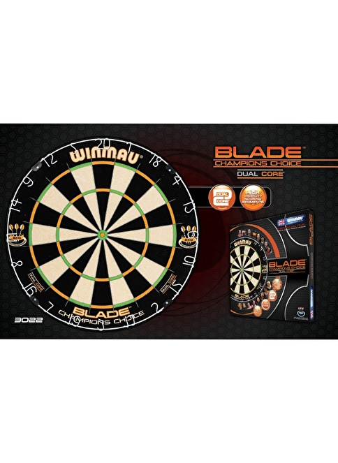 Winmau Blade 4 Champions Choice Dartboard Renkli